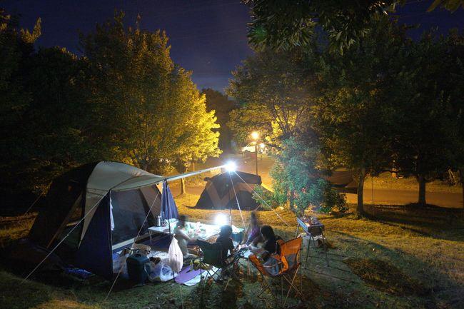 キャンプツーリングフィールドイメージ