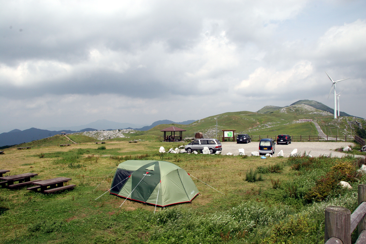 キャンプツーリング フィールド画像